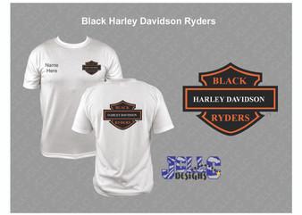 Black Harley Davidson Ryders