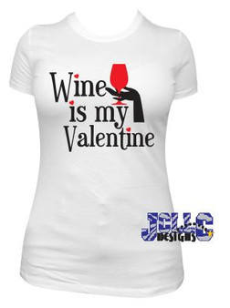 HT Vinyl - Wine is my Valentine