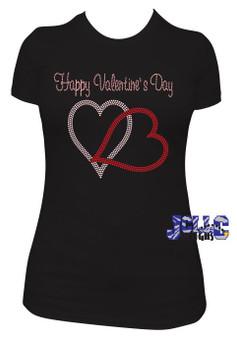 Rhinestone - Happy Valentines Day