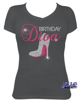 Rhinestone - Birthday Diva