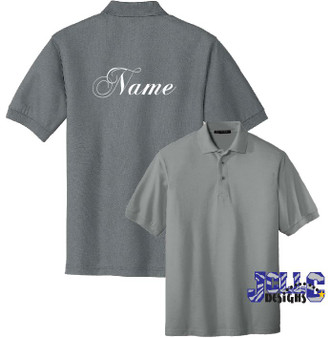 Embroidery - Name on Back (Shirt Provided by Customer)