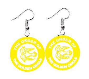 Order of the Golden Circle Dangle Earrings
