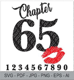 SVG - Chapter xx Birthday Tee