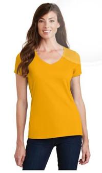 Port & Company LPC450V Ladies Fan Favorite V-Neck T-Shirt