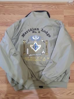 Meridian Lodge No. 6 Jacket/Grey 4X