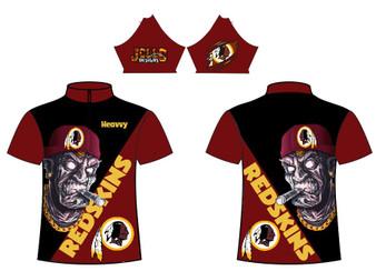 Sub - Redskins Skull Design 1
