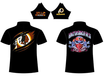 Sub - Redskins Skull Design 2