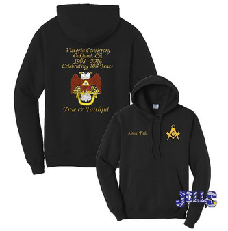 Embroidery - Victoria Consistory (hoodie)