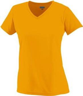 Augusta Women & Girls Cooling Fitted V-Neck Tee Shirt - 1790
