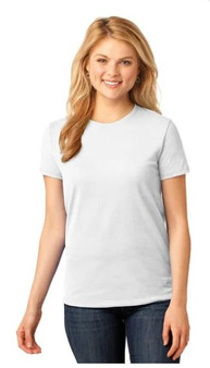 Port & Company LPC55 Ladies 50/50 Cotton/Poly T-Shirt