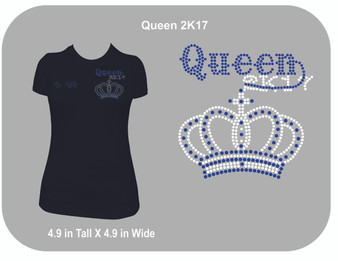 Queen 2K17 Rhinestone Shirt
