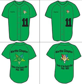 Martha Chapter No. 11 Baseball Jersey