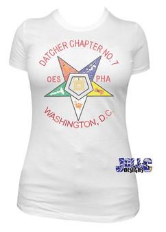 Datcher Chapter No. 7 Rhinestone Tee