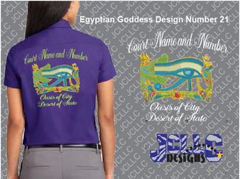 Egyptian Goddess Design Number 21