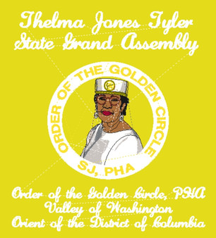 Embroidery - Thelma Jones Tyler State Grand Assembly