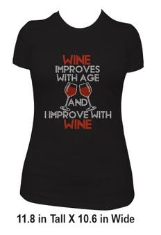 Wine Improves Tee