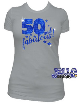 Glitter Flake - 50 and Fabulous