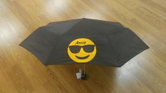 Custom Emoji Folding Umbrella