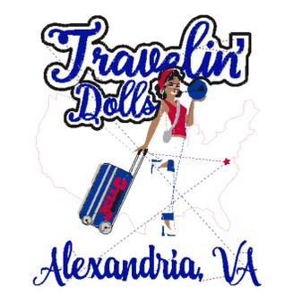 Travelin Doll's Bowling Shirt