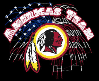 Redskins Americas Team (Embroidery)