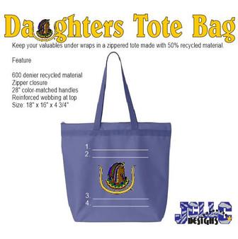 Daughters (DOI) Custom Tote Bag