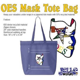 OES Mask Custom Tote Bag