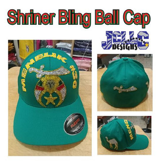 Shriners Bling Ball Cap