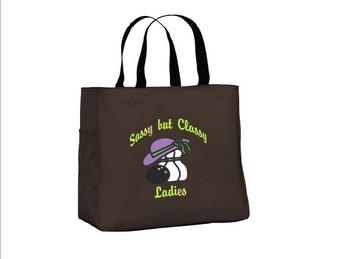 Sassy But Classy ladies Tote Bag