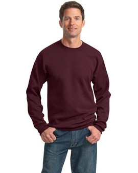 Port & Company PC78 7.8-oz Crewneck Sweatshirt (Maroon.Small)