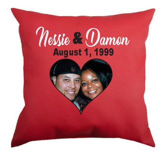 Valentines Day Personalized Pillow