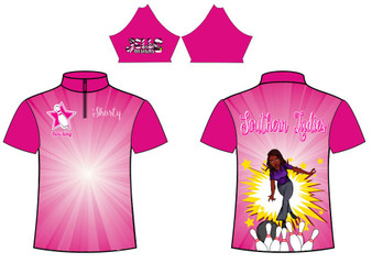 Sub  Southern Ladies Bowling Jersey