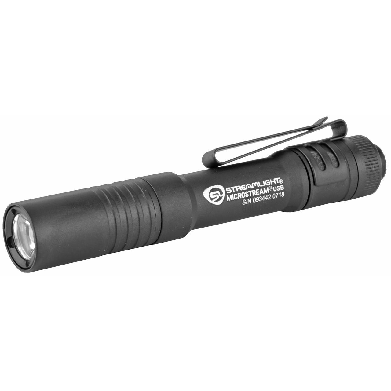 Streamlight Microstream, Flashlight, USB Charging Cord, Black 66601