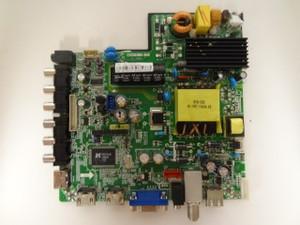 Seiki SE40FY27 Main Board / Power Supply (CV3393BH-B42) 3BJ2434