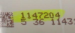 Hisense - HD550FU-B51(100)\S2\GM\ROH - LED Backlight Strip - 1147204