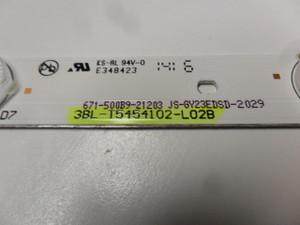 Haier LED Backlight Strips - (50D3505) - 3BL-T5454102-L02B