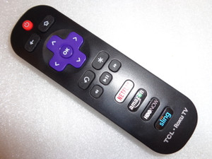 NEW TCL RC280 Remote with HBO NOW, Netflix, Amazon & Sling Hotkeys