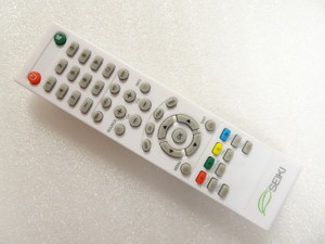 White Seiki Remote W84504503B01 Refurbished - Works with most Seiki TV's!