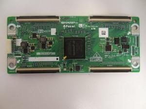 Sharp LC-60E77UN T-Con Board (CPWBX4221TPZA) RUNTK4221TPZA
