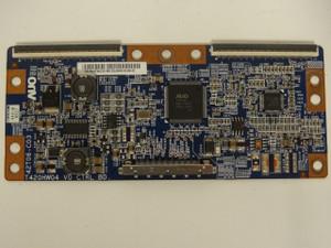 Dynex DX-L42-10A T-Con Board (T420HW04 V.5, 42T06-C03) 55.42T06.C15