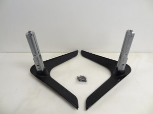 Sharp LC70UE30U & LC60UE30U (Black Trim) Stand Legs W/Screws - New