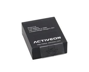 ACTIVEON CX Rechargeable Battery (Black) 3.8V 1100mAh 4.35V ACA01RB