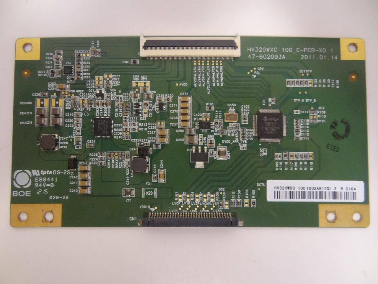 Hv320wxc 100 T Con Board For Sceptre X322bv Hd