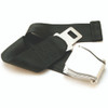Black Type A Airplane Seat Belt Extender - FAA Compliant