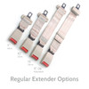 "Regular Extenders in 7"", 10"", and 15"""