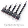 Black Rigid Seat Belt Extender Options
