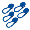 Button Pant Extender (blue) - package of 5