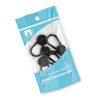 Button Pant Extender 5 Pack in Packaging Black