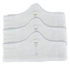2XL White More of Me to Love Bamboo Bra Liners