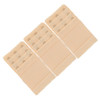 Stretch Elastic Bra Extender 3-Pack Beige 3-Hook