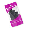 Stretch Elastic Bra Extenders in Packaging (Black)